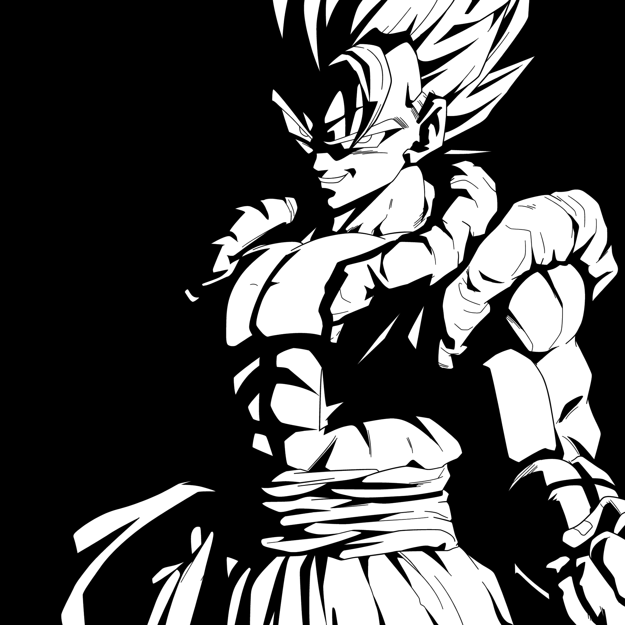 Free Download Goku Black And White Wallpapers Top Goku Black And White 2048x2048 For Your Desktop Mobile Tablet Explore 19 Dragon Ball Z Black And White Wallpapers Dragon Ball