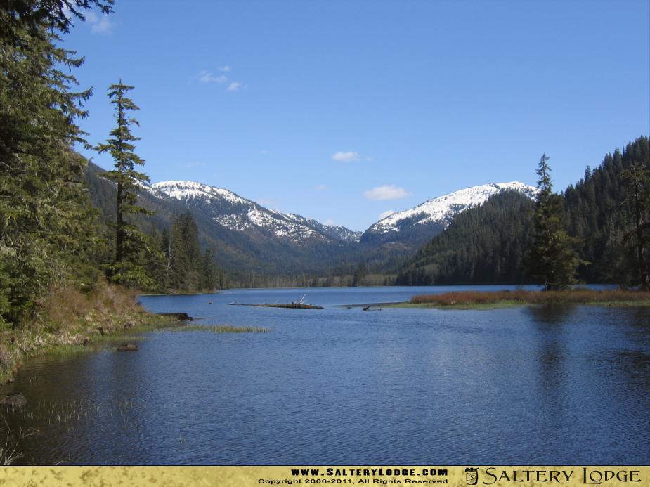 Manzanita Lake in southeast Alaska   Alaska Desktop Wallpaper 925x693