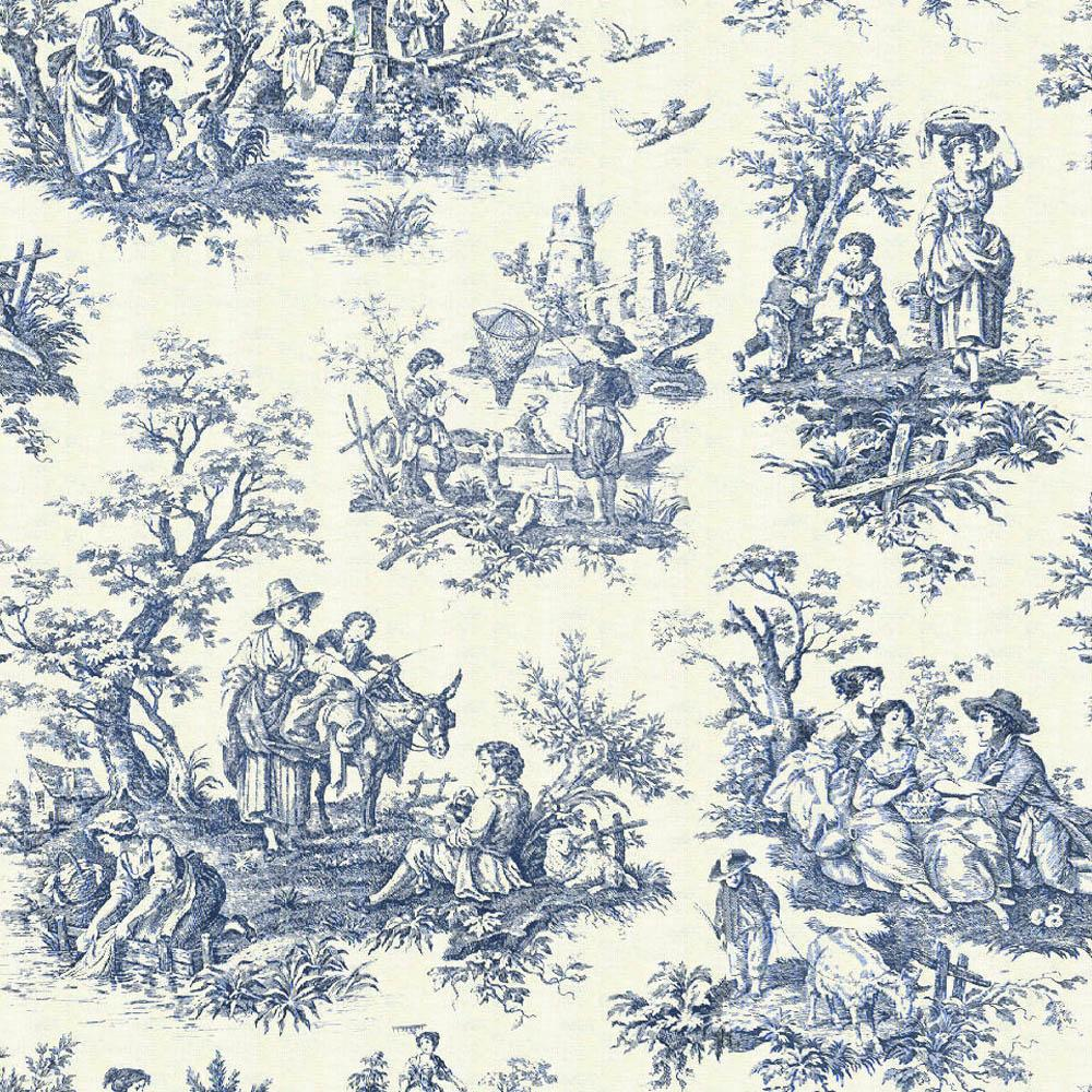 Tweedland The Gentlemens club Toile de Jouy 1000x1000