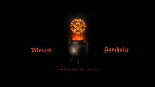 Samhain Wallpaper   The Pagan Cauldron 500x281