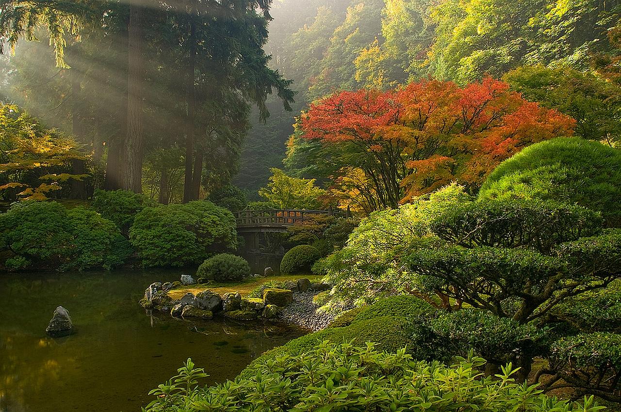 the japanese garden Wallpaper Background 25463 1280x850