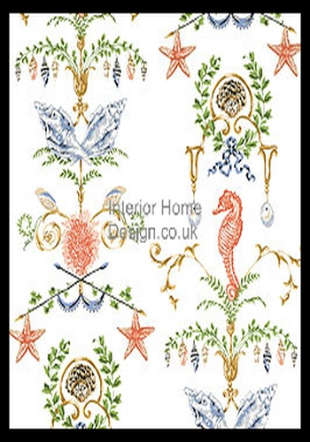 Thibaut Wallpaper   Barbados Wallpaper   Turks Caicos T1634 350x500