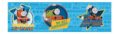 Thomas the Tank Engine Wall Decals   Totally Kids Totally Bedrooms 500x146