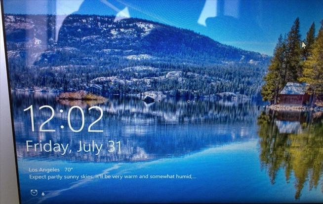 How to Customize the Windows 10 Lock Screen I GEEK 654x414