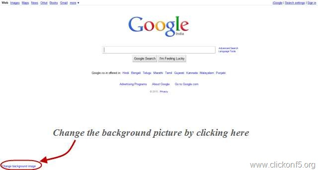 how to set up google as homepage on safari