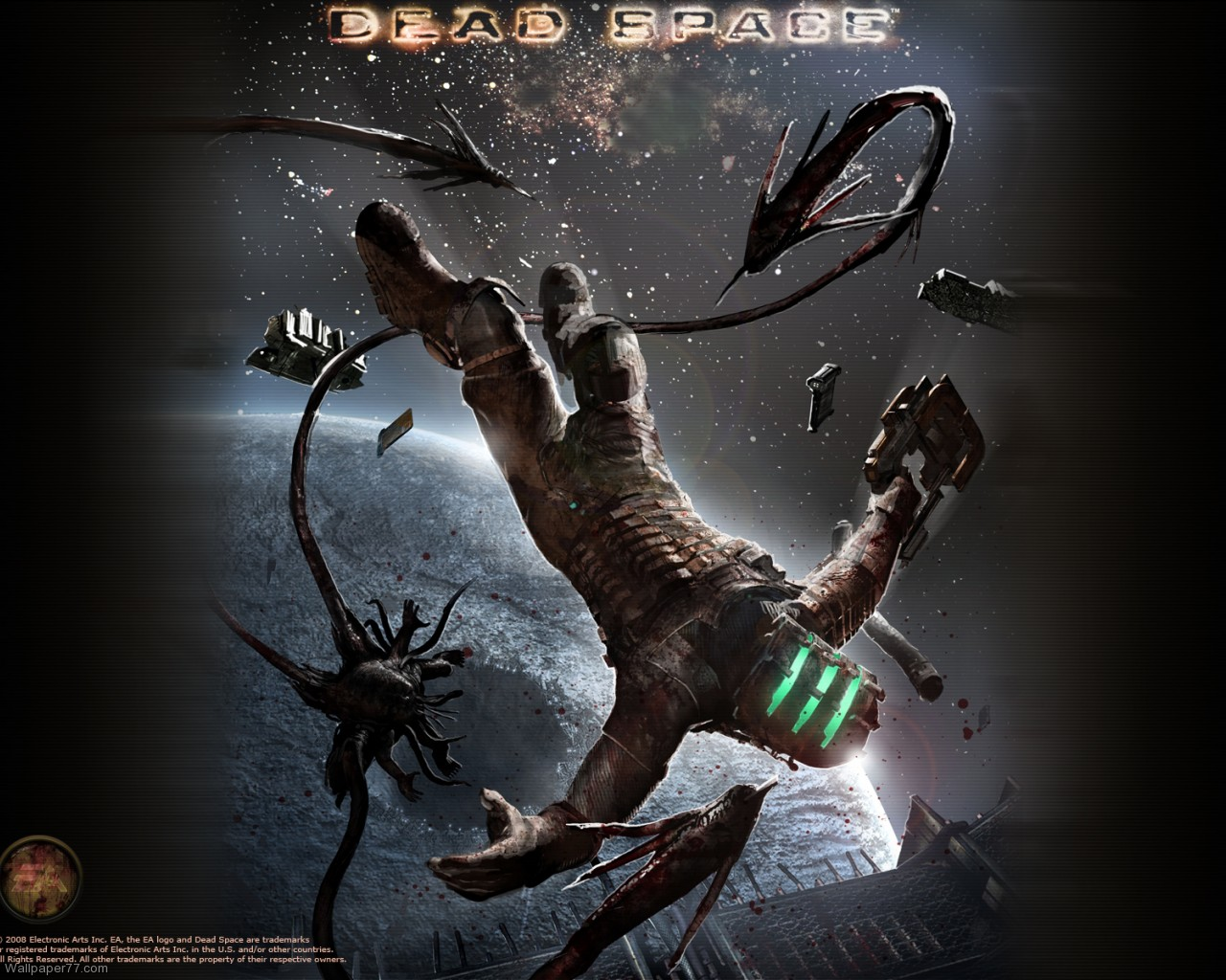Space Wallpaper 15 dead space wallpapers game wallpapers 1280x1024jpg 1280x1024