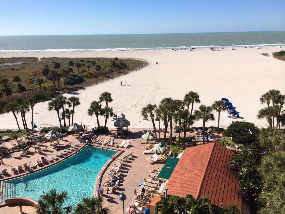 Sheraton Sand Key Resort Clearwater Florida   The view from our 1224x918