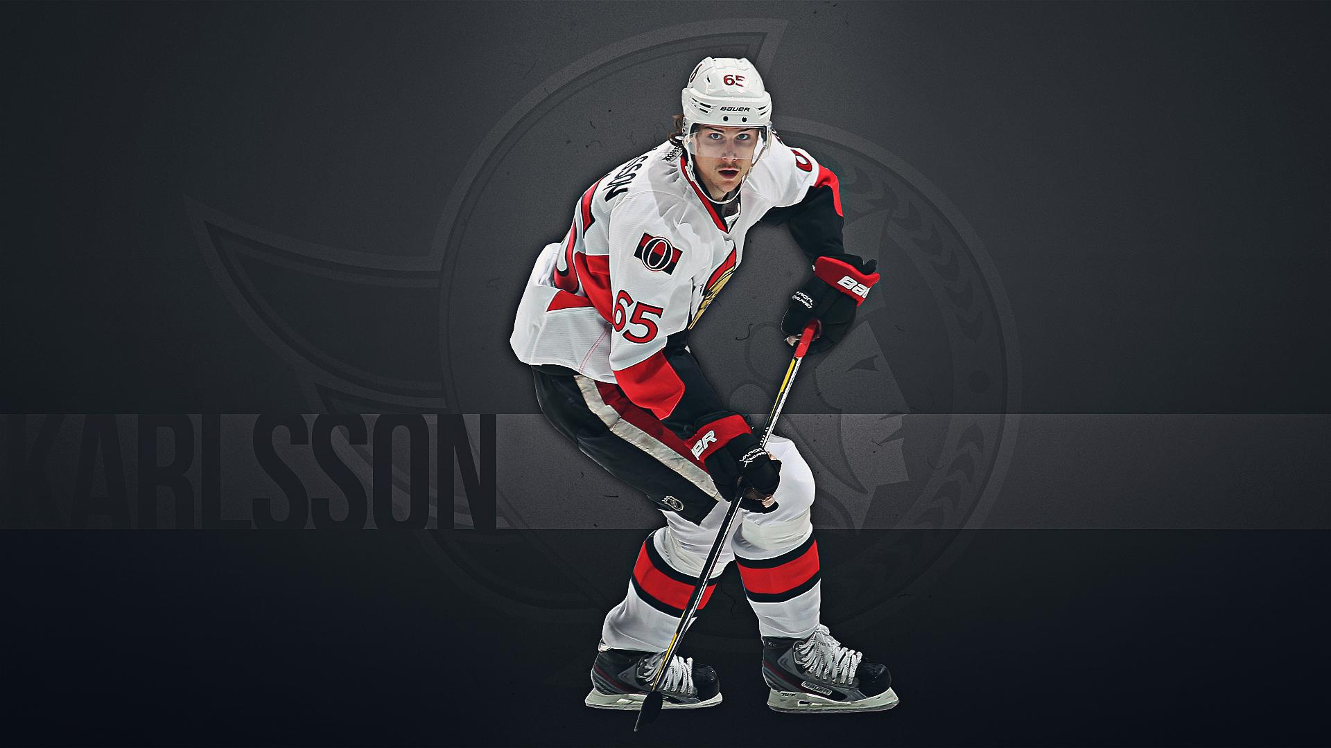 Best Hockey player Ottawa Erik Karlsson wallpapers and images 1920x1080