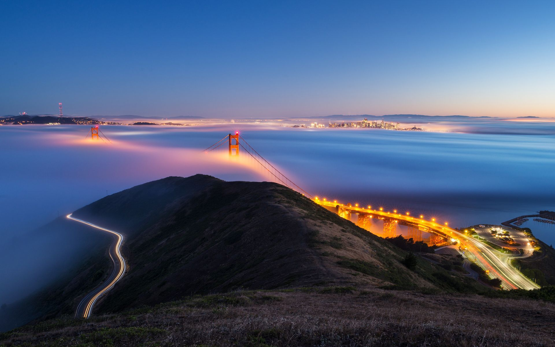 San Francisco Bay Wallpaper Wallpapersafari