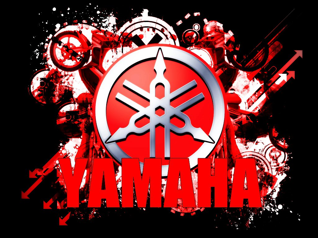 yamaha logo wallpaper wallpapersafari