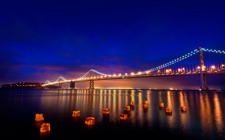 San Francisco Nights Wallpapers HD Wallpapers 2880x1800