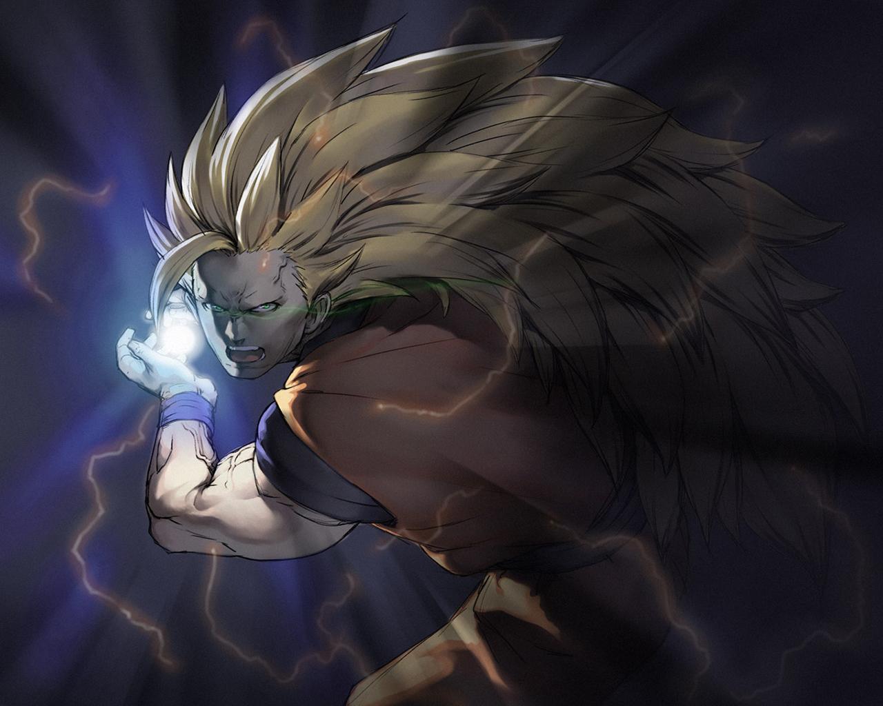 Son Goku Wallpaper 1280x1024 Son Goku 1280x1024