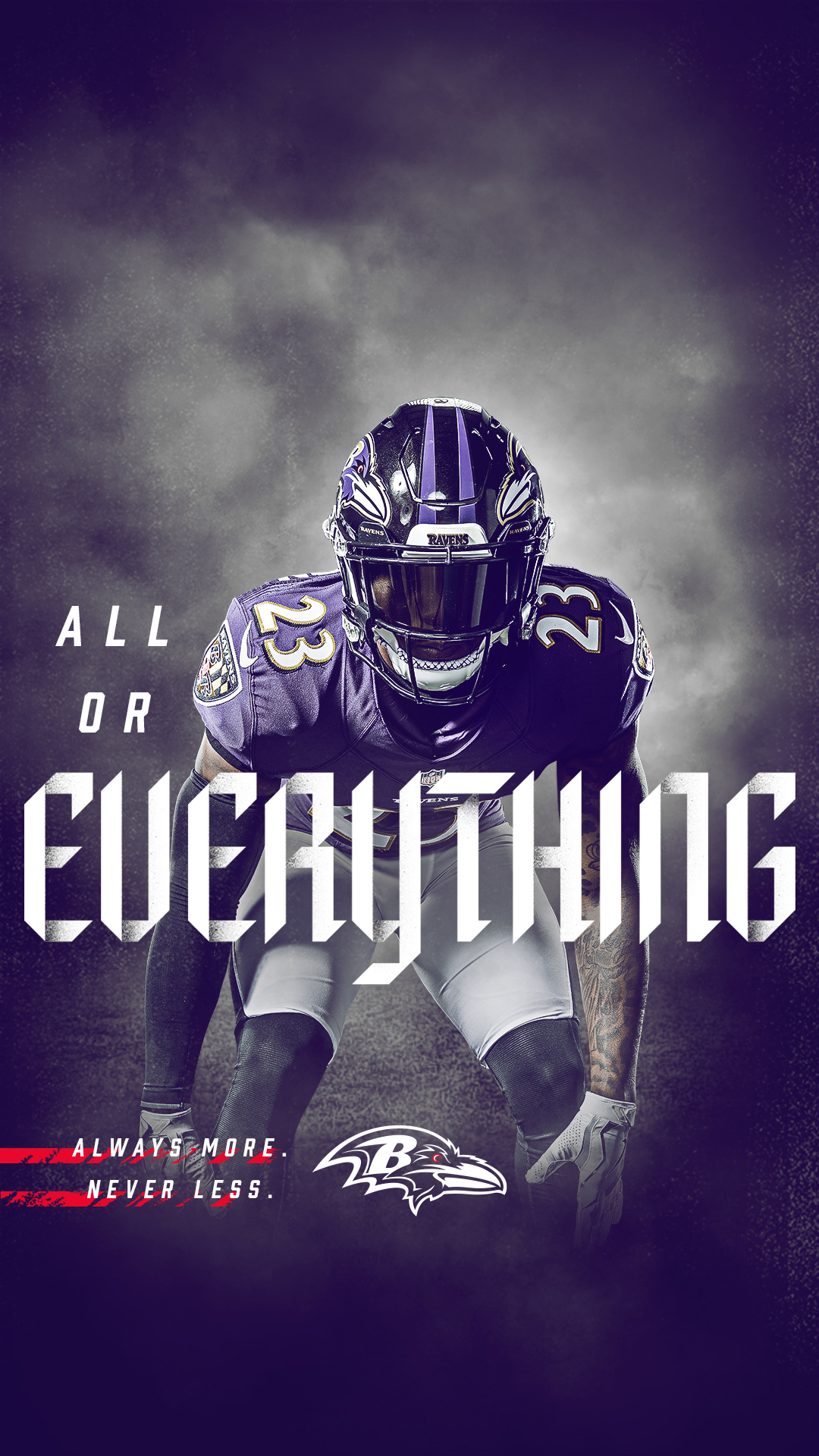 Ravens Wallpapers Baltimore Ravens baltimoreravenscom 1080x1920