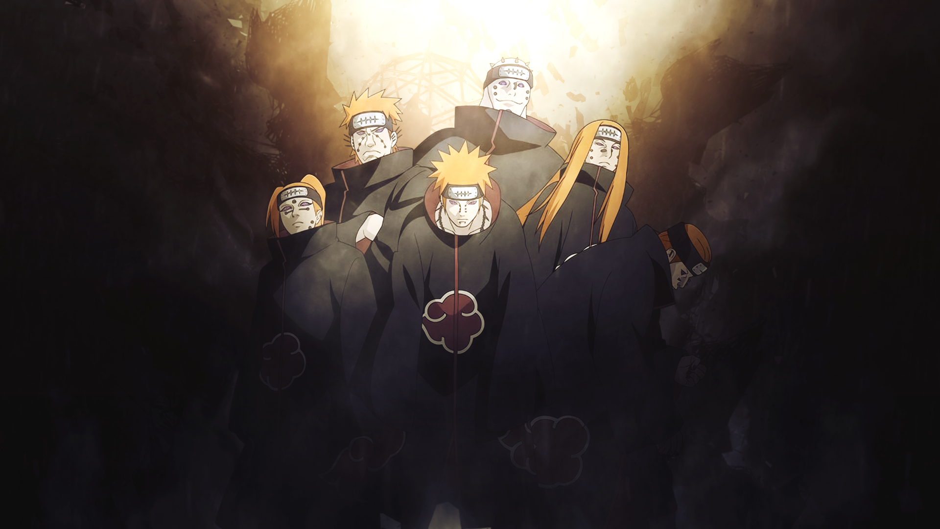 6 paths of pain naruto
