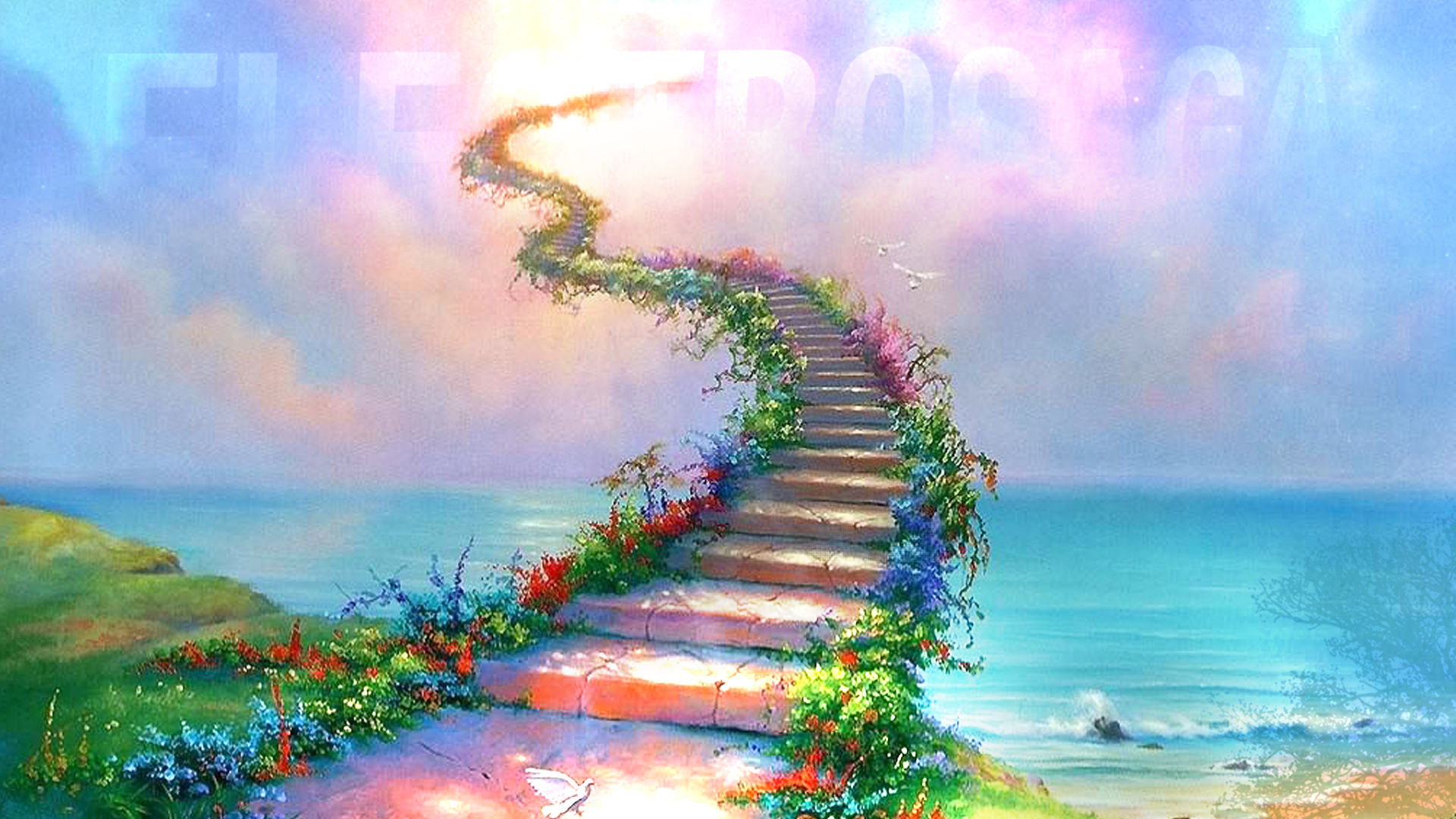 stairway to heaven background - photo #9
