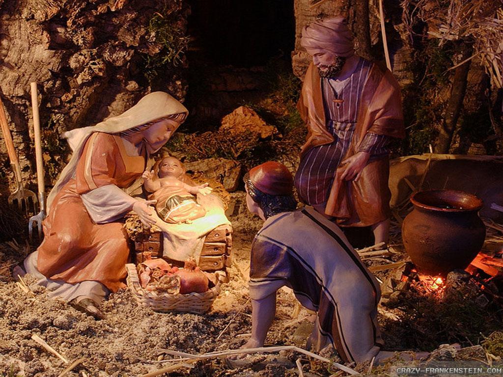 Christian Christmas Wallpapers 1024x768