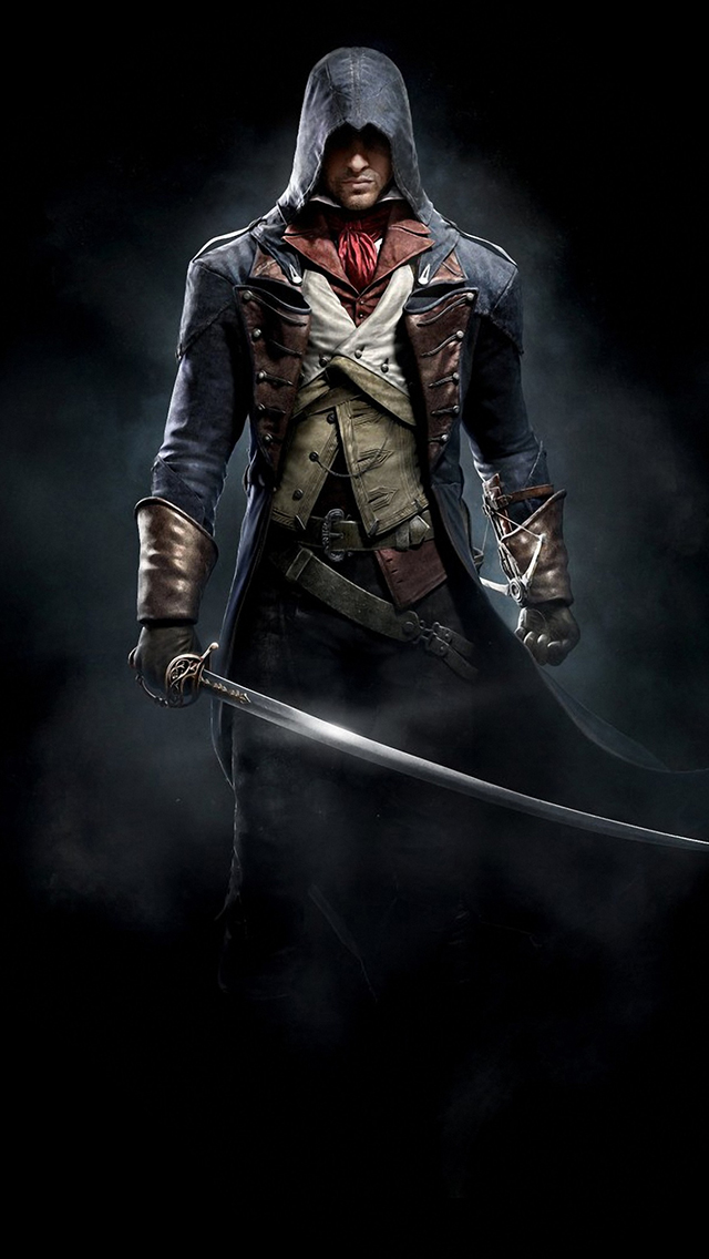 Free Download Assassins Creed Unity 3wallpapers Iphone Parallax