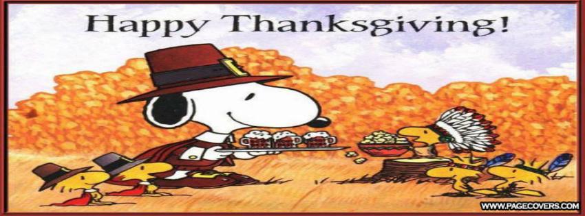 Peanuts Thanksgiving Wallpaper 1366x768 Snoopy thanksgiving wallpaper 850x315