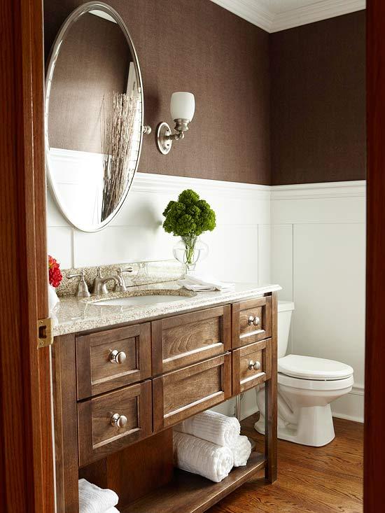 brown bathroom wallpaper 2015   Grasscloth Wallpaper 550x733