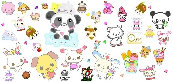 anime with animals as main characters: Cute Anime Animals Wallpaper