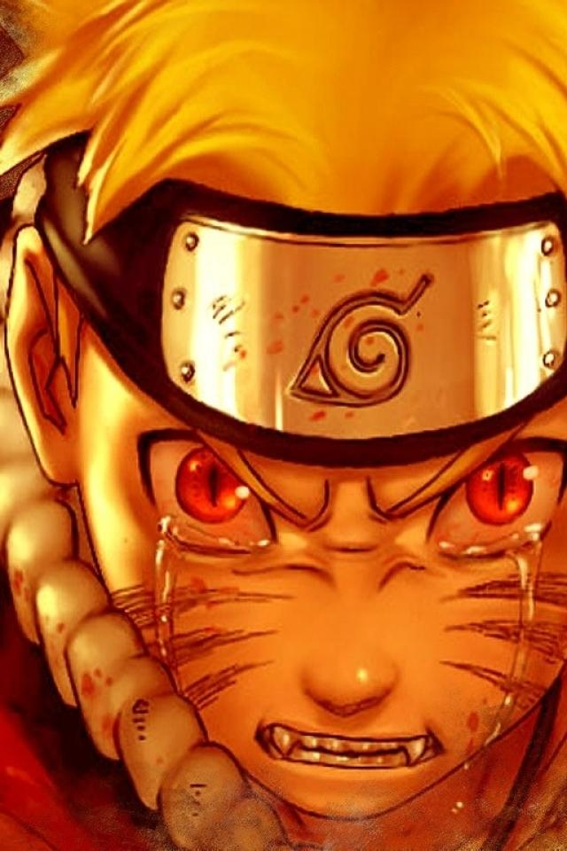 NARUTO CRY Iphone 4 Wallpapers 640x960 Cell Phone Hd Wallpapers 640x960