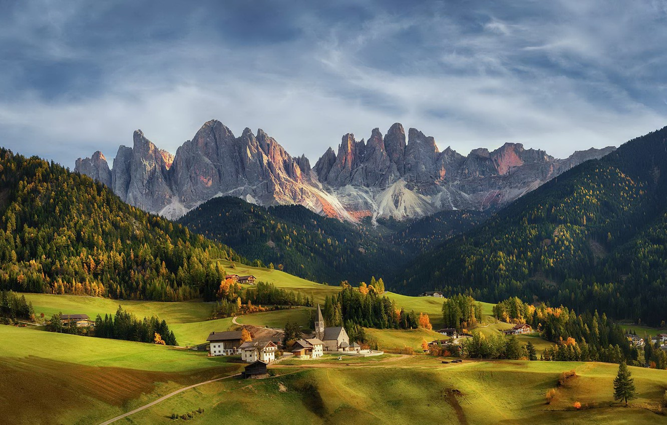 Wallpaper Italy Trentino Alto Adige Bolzano images for desktop 1332x850