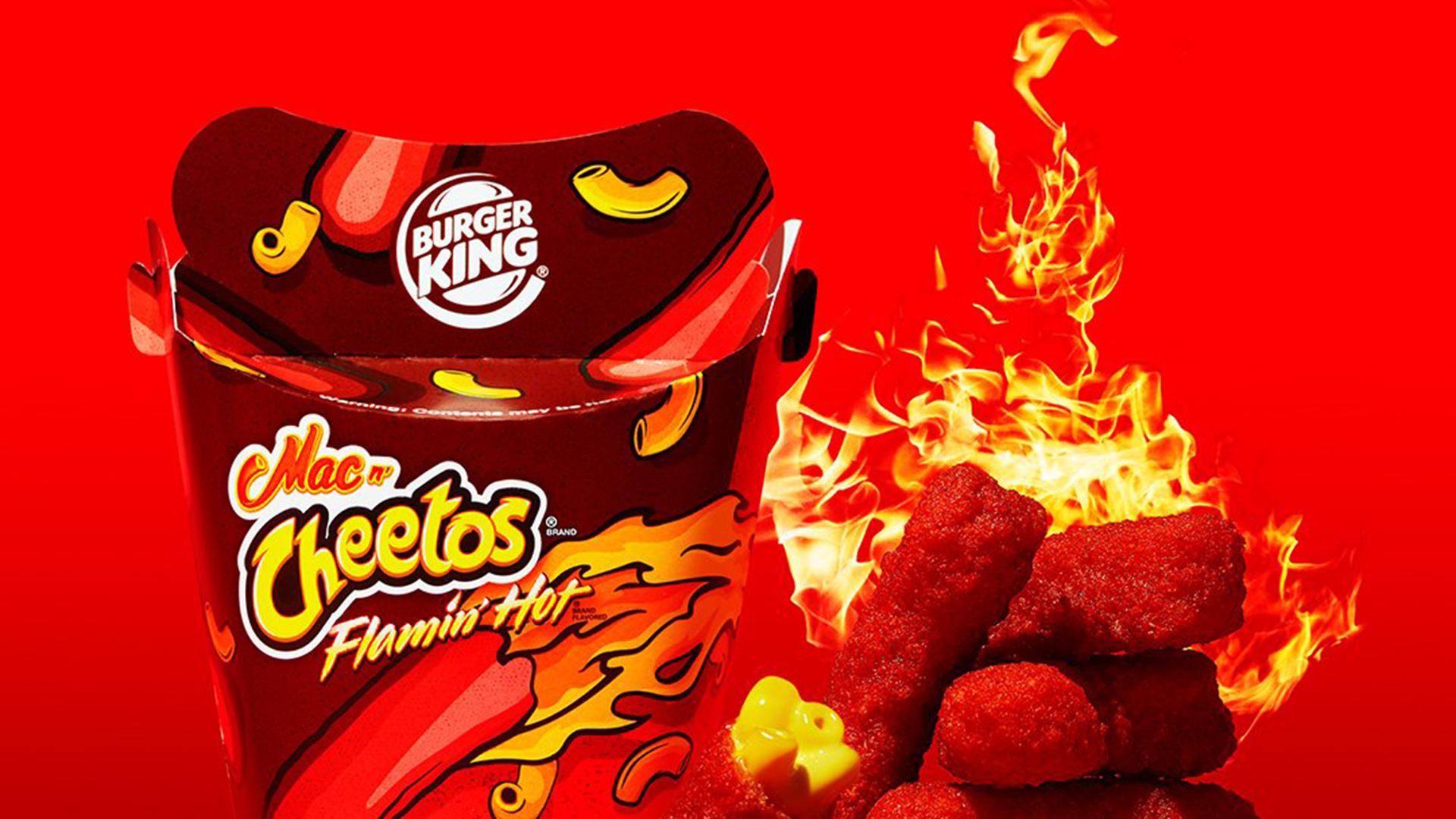 Burger King rolls out Flamin Hot Mac n Cheetos 1920x1080