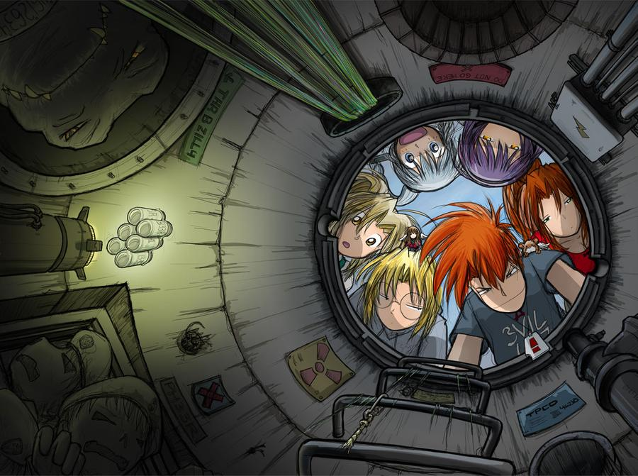 Megatokyo Omnibus 1 3 cover by fredrin 900x671