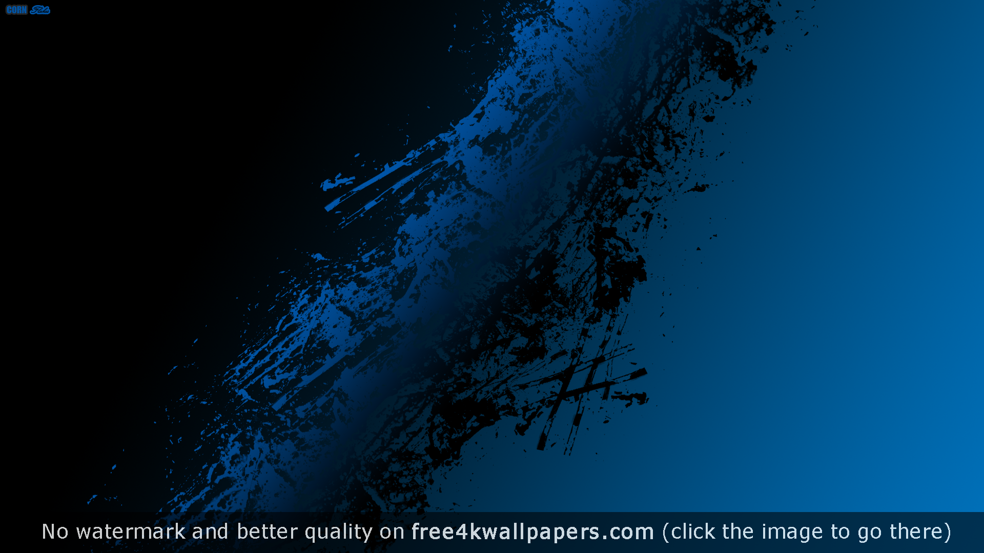 Black Blue Abstract Wallpaper 1920x1080