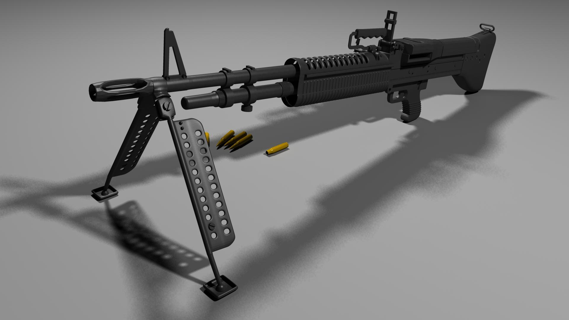 M60 MACHINE GUN military rifle weapon ge wallpaper background 1920x1080