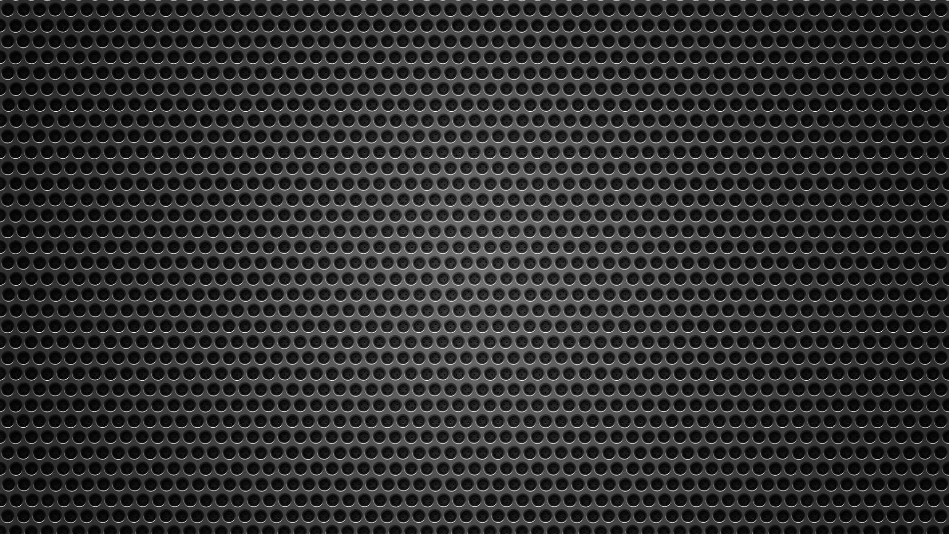 Grid circles background metal dark wallpaper background full