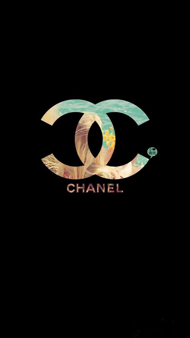 Creative Chanel Logo Wallpaper   iPhone Wallpapers 640x1136