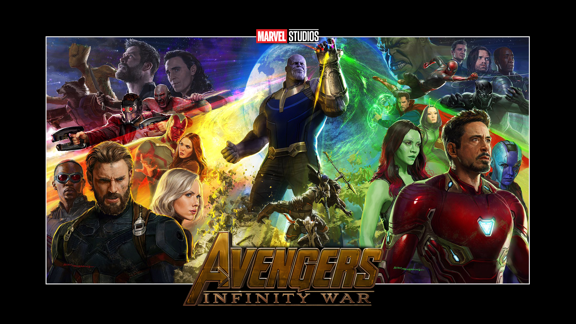 Photo Collection Marvel Avengers Infinity War Wallpaper 1920x1080