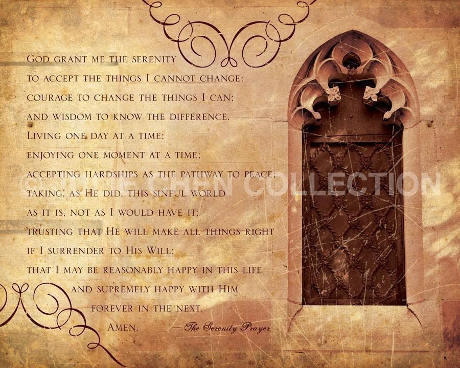 Free Download Full Serenity Prayer Wallpaper The Serenity