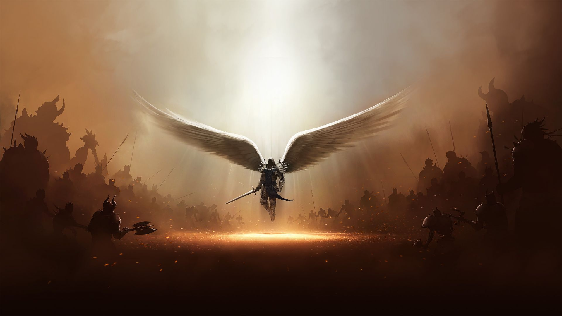 High Definition Wallpapers HD 19201080 Angel Warrior HD 1920x1080