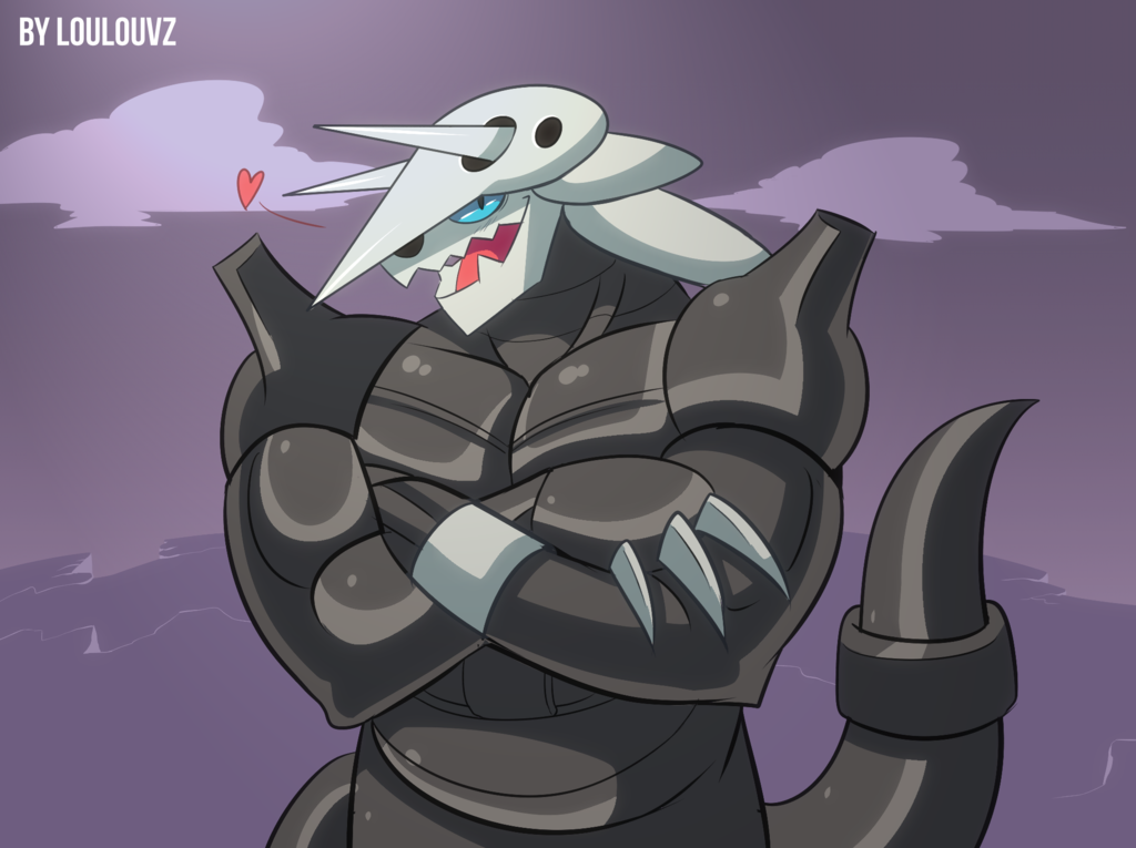 Sexy Aggron by LoulouVZ 1024x765
