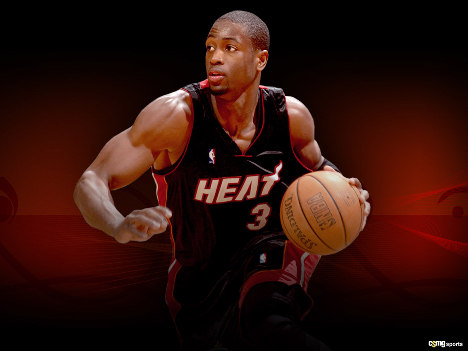 Wallpapers DWYANE WADE NBA TSEBA 1600x1200