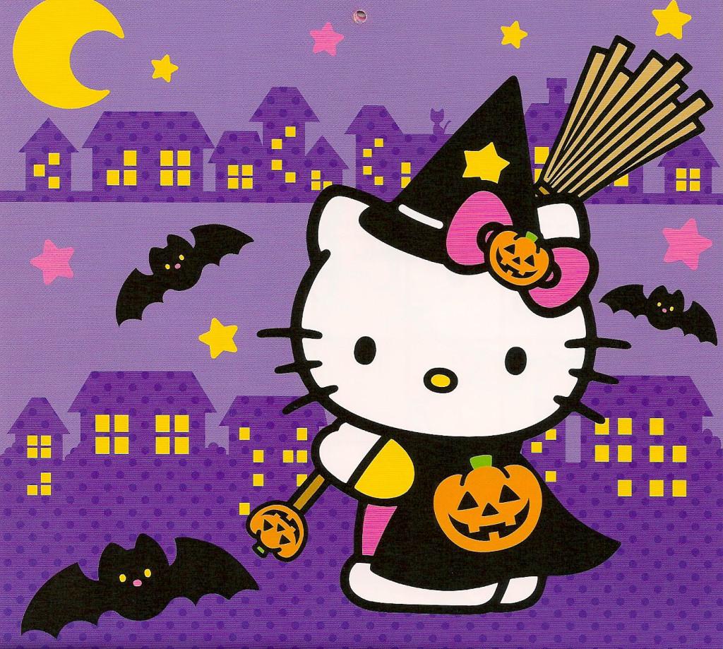halloween hello kitty wallpaper - wallpapersafari