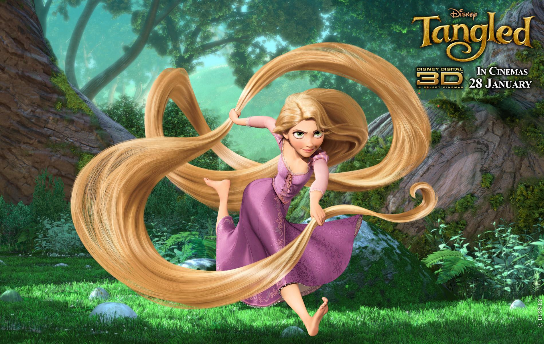 rapunzel Disney Tangled Wallpaper 1900x1200