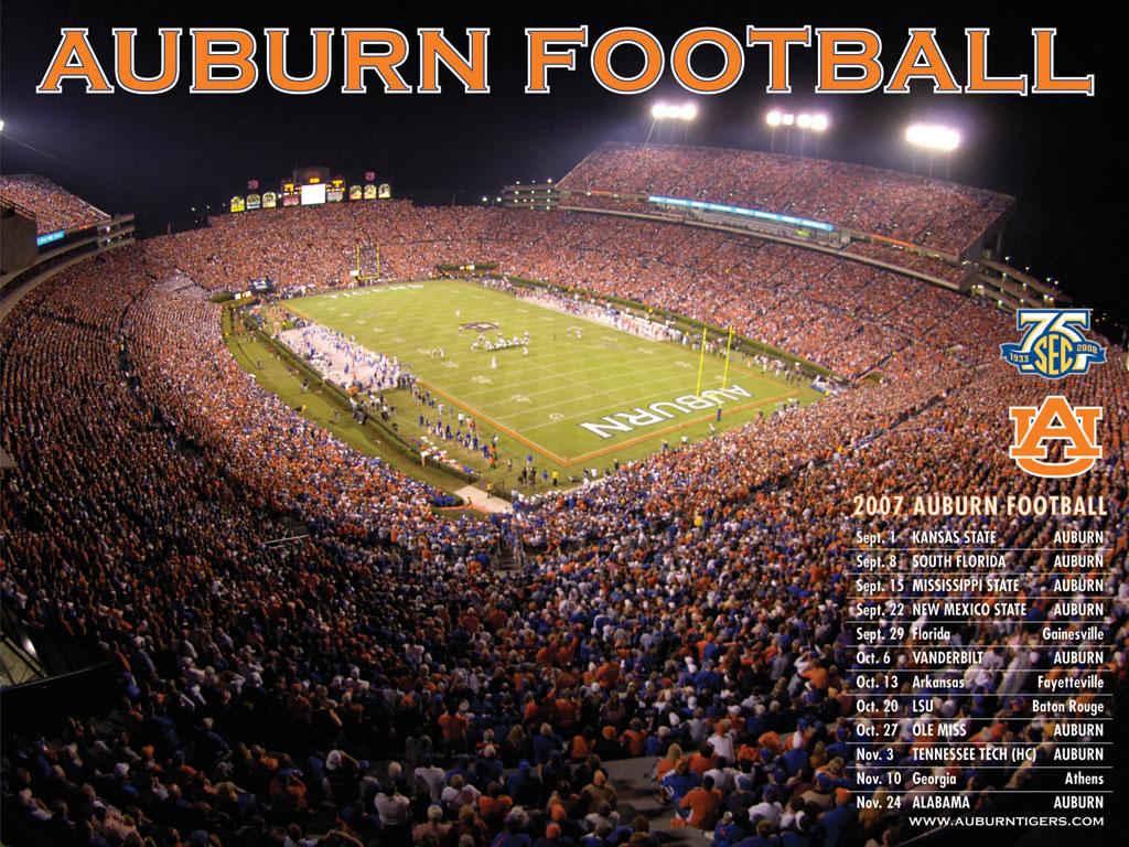 HD Auburn Football Wallpaper 1024x768