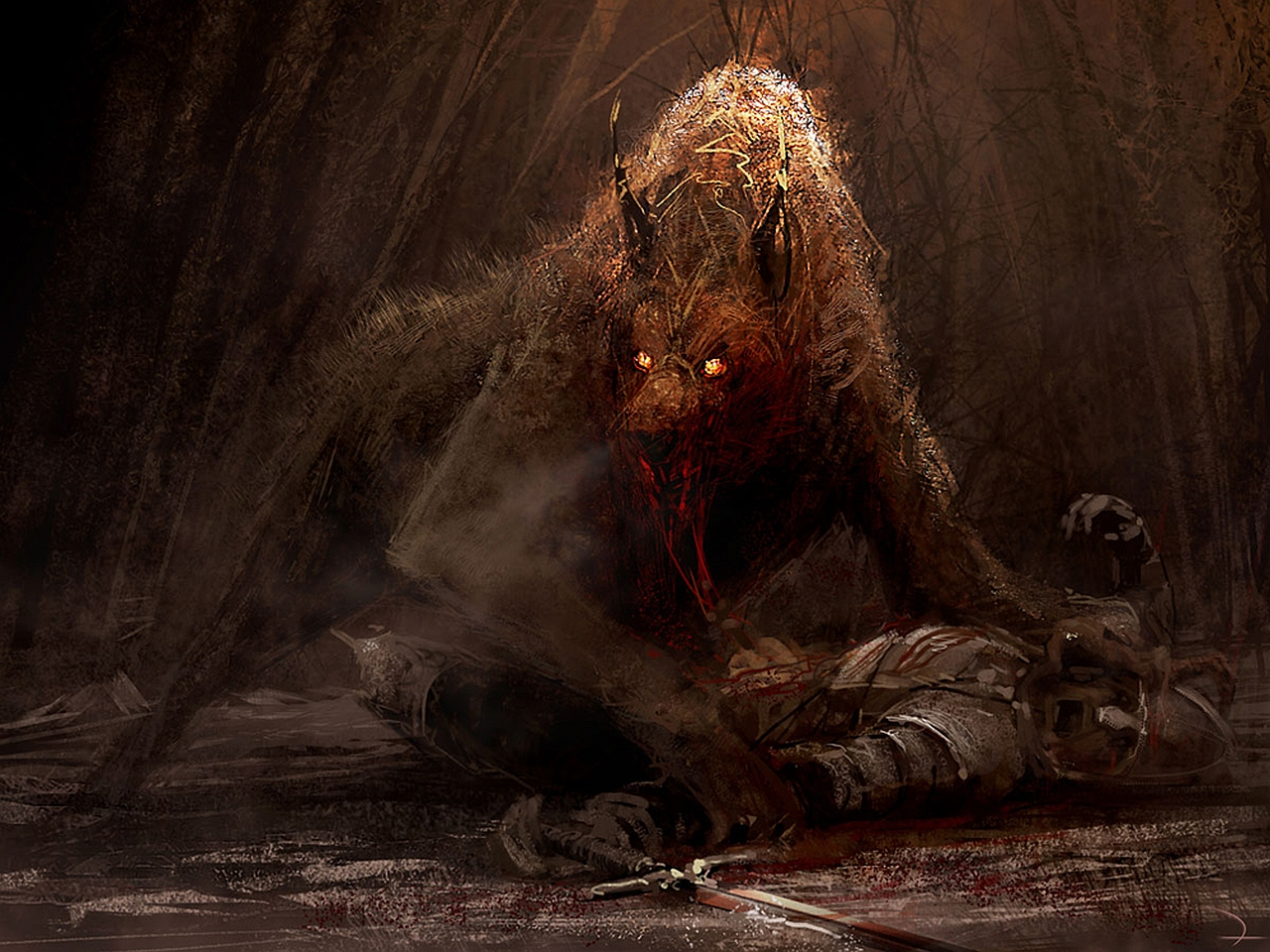 Hell Hound Wallpaper and Background Image 1280x960 ID219619 1280x960