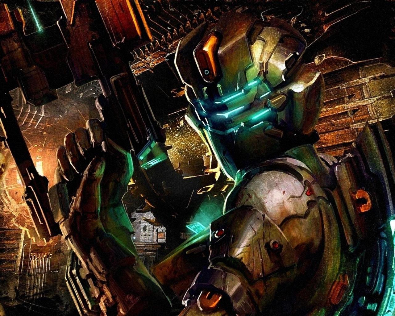 Dead Space 2 Game Art wallpaper 1280x1024   Fondo hd 2666 1280x1024