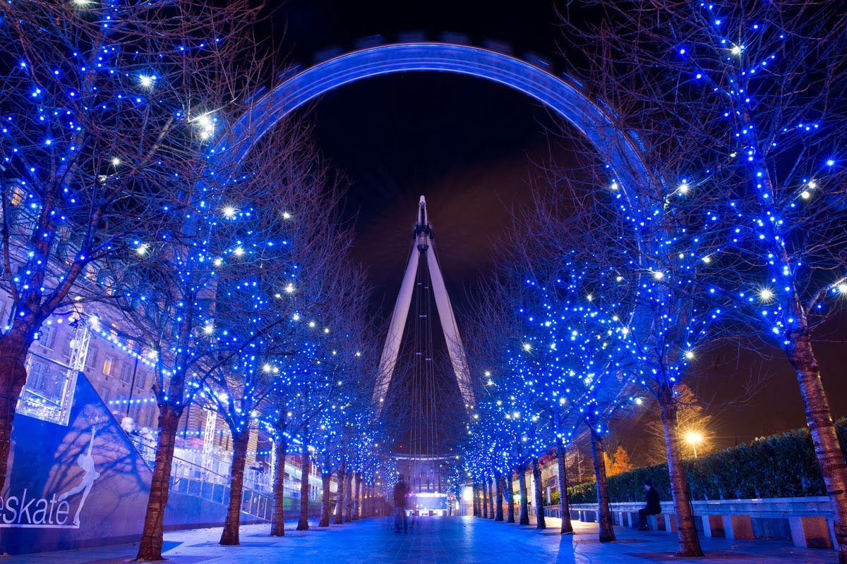 Christmas London Eye 1200x800