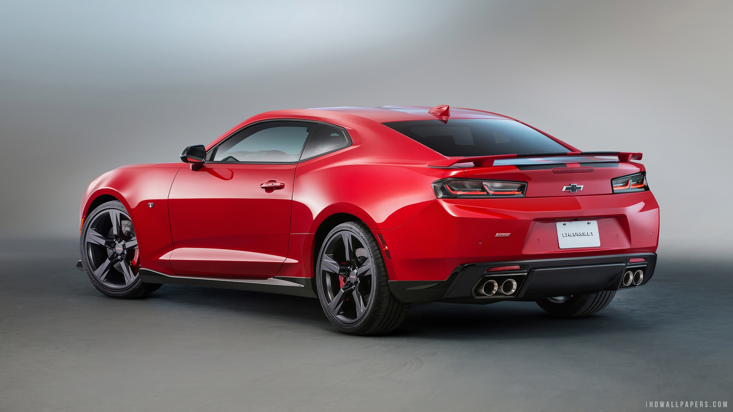 2016 Chevy Camaro Red and Black Accent HD Wallpaper   iHD Wallpapers 2560x1440