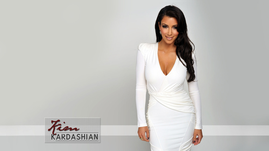 Wallpaper Kim Kardashian Desktop Background 900x506