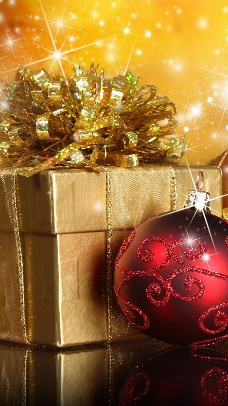25 Christmas Wallpapers for iPhone   Cute and Vintage 768x1365