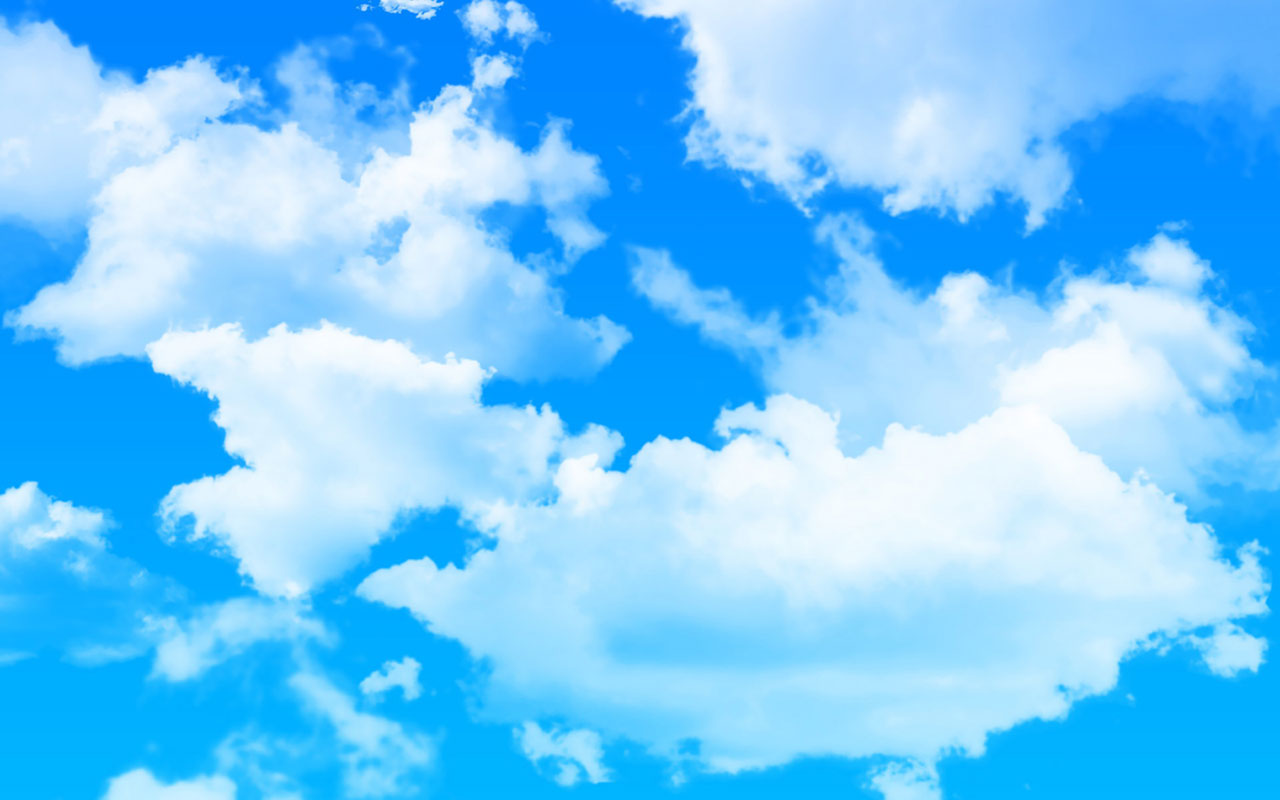 wallpapers fresh blue sky background wallpaper 6 fresh blue sky 1280x800