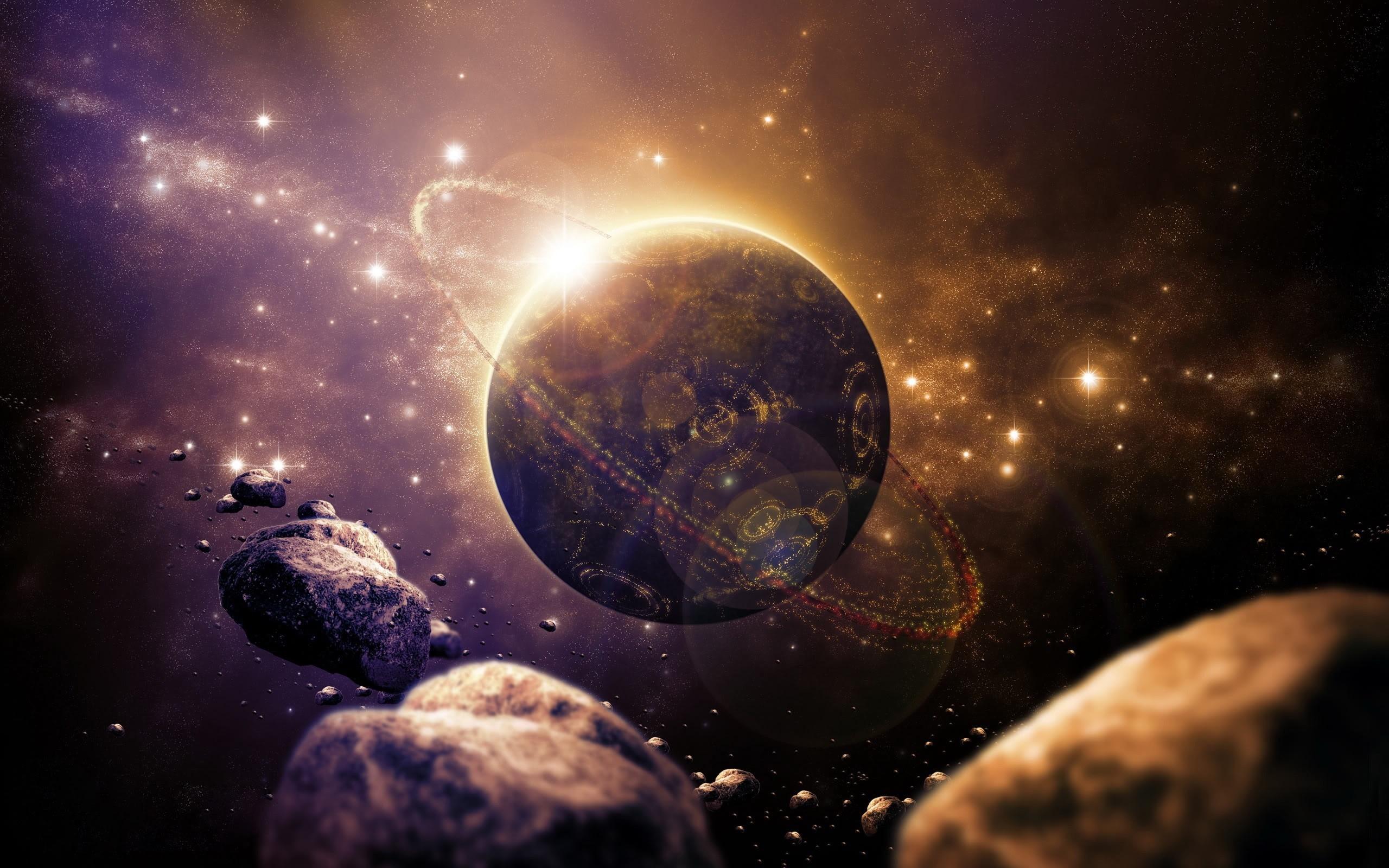 Sci fi Planet Wallpaper HD Wallpapers 2560x1600