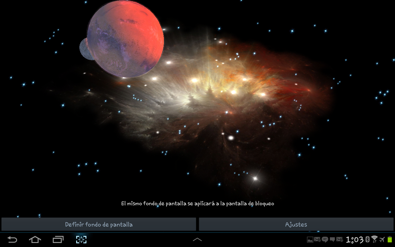3D Galaxy Live Wallpaper   Android Apps on Google Play 1280x800
