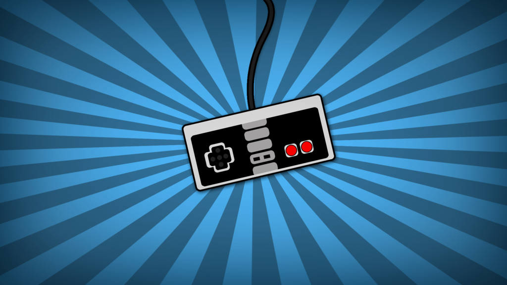 NES Controller Wallpaper by YeikoSV 1024x576